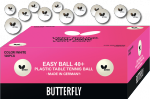 Butterfly Easy ball 40+ 120 kpl